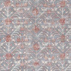 Zak+Fox's Khotan Rubia fabric found at Hollywood at Home