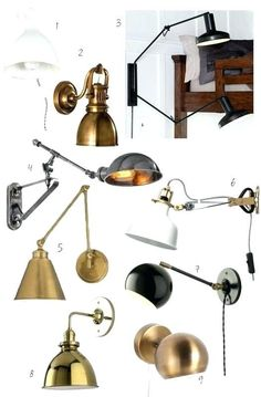 Bedside Lighting Wall Mounted Pinterest Reading Lights Pendant Light