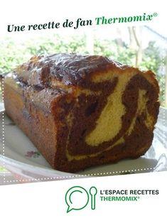 CAKE MARBRE MOELLEUX AU CHOCOLAT par elleisab. Une recette de fan à retrouver dans la catégorie Pains & Viennoiseries sur www.espace-recettes.fr, de Thermomix®.