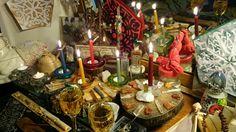 Sacred Places Altar Spaces: anstasiasandtorhallas: Today's homage to God's,...