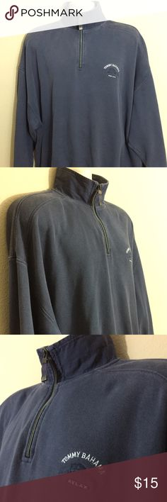 Tommy Bahama Relax 1/4 zip jacket This jacket was designed by Tommy Bahama with style and comfort in mind. This jacket was crafted with the finest materials. Made from 100% cotton it's extremely soft to the touch. The Jacket it's self is in excellent condition. Ships from a pet/smoke free facility! Great addition to any closet! Tommy Bahama Jackets & Coats