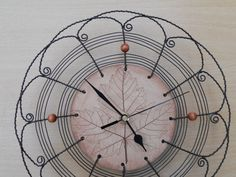 Clocks sheet wire ceramics... by HaCu on Etsy