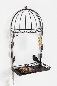 Birdcage Jewelry Stand (urbanoutfitters.com)