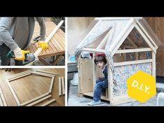 DIY Spielhaus aus Holz für Kinder   Roombeez