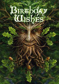 Pagan [Green Man] Birthday Wishes