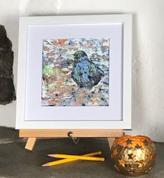 Instagram Site, Small Paintings, Blackbird, Easel, Prints For Sale, Gouache, Layering, Woodland, Wildlife
