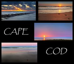 Sunsets from the Cape Cod National Seashore in Massachusetts.