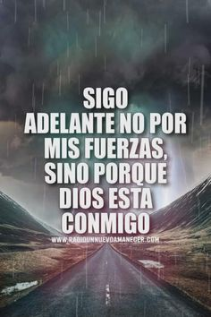 Gods Love Quotes, Spirit Quotes, Faith Quotes, Bible Quotes, Change Quotes, Motivational Phrases, Motivational Quotes For Working Out, Positive Quotes, Spanish Inspirational Quotes