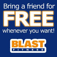With the Blast Fitness platinum membership, you can bring a guest for free. Blast Fitness, Bring A Friend, Group Fitness Classes, Gym Membership, Personal Fitness, Health Club, Bring It On, Exercise, Workout