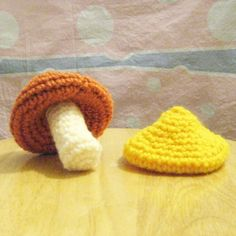 NOTE: This is the PATTERN for crochet mushroom  The top part of the mushroom can be taken off, so you can put on another top part with a different color. This is definitely a great and fun handmade toy for your little ones if you want to teach them about colors!  Crochet mushroom is done with the basis crochet techniques of chaining, single crochet and slip stitch. Crochet mushroom is about 4 inches tall. Youll be able to download the PDF file as soon as you have completed your purchase. If…