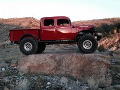 The best you can get using original parts. Its all Mopar and all Power Wagon for the die-hard enthusiast Old Dodge Trucks, Diesel Trucks, Custom Trucks, Cool Trucks, Pickup Trucks, Dodge Cummins, Dodge Auto, Dodge Diesel, Dodge Pickup