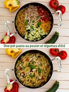Healthy One Pot Meals, Healthy Dinner Recipes, Plats Healthy, Health Dinner, One Pot Pasta, Batch Cooking, Diet Meal Plans, Weight Watchers Meals, Family Meals