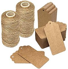 Natural Raffia Grass Bundle Dry Straw Paper Gift Wrap Candy Box Wedding Party Decor Invitation Gift Card Packing Rope Flower Wraping Rustic Decor DIY Crafts Supplies 6 Rolls