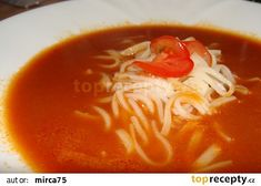 Czech Recipes, Ethnic Recipes, Pavlova, Bon Appetit, Thai Red Curry, Yummy Food, Baking, Soups, Fit