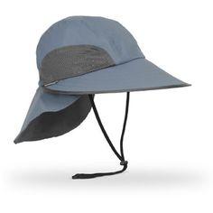 6250c98b44a63 Legionaries Safari Unisex Oversized Medium BLUEGRAY Adjustable UPF UV 50 SUN  Hats men ladies unisex Adventure