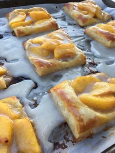 Peach Puff Pastry Tart Recipe