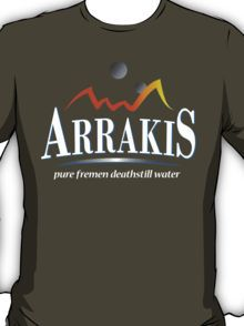 3b6802e70d2 Arrakis Water Company (Dune) T-Shirt Water Company