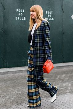 Street style à la Fashion Week automne-hiver 2018-2019 de New York Crédit photo : Sandra Semburg #FashionTrendsStreet
