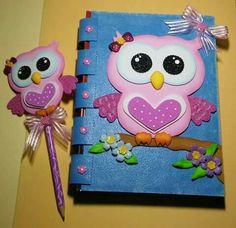 Foam Crafts, Arts And Crafts, Paper Crafts, Decorate Notebook, Notebook Design, Spring Crafts, Alice In Wonderland, Ideas Para, Lunch Box