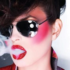 80's new wave makeup
