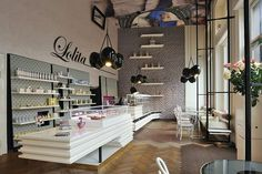 Lolita by Trije Arhitekti - coffee shop situated in Ljubljana, Slovenija
