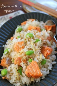 Japanese Food, Japanese Recipes, Yummy Food, Tasty, Rice Bowls, Easy Peasy, Fried Rice, Pasta Salad, Food And Drink