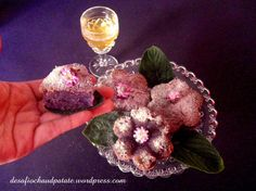 Gâteau de patate douce violette #patatedouceviolette #patatedoucepourpre #violet #faussetonka #cachaça #patatepei