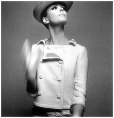 Melanie Hampshire in Courrèges, Harper's Bazaar, 1965 Melvin Sokolsky