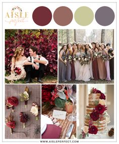 Pomegranate and Fig Wedding | 4 Unexpected Color Schemes That Actually Work | Aisle Perfect http://aisleperfect.com/2015/09/four-unexpected-wedding-color-schemes-that-actually-work.html #wedding #inspiration #fallwedding