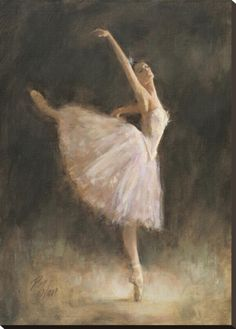 The Passion of Dance Stretched Canvas Print by Richard Judson Zolan at Art.com