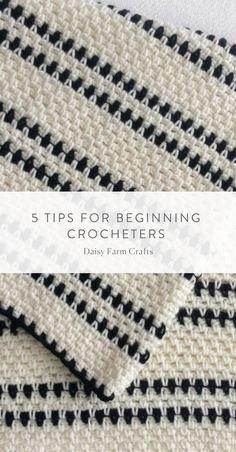 5 Tips for Beginning Crocheters