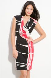 Fantastic print, will look great on you too. Great color, easy fabric.  My fave for you so far. And only $118 at Nordy's.