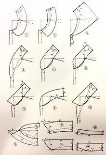 Sewing Basics, Sewing Hacks, Sewing Tutorials, Sewing Tips, Corset Pattern, Collar Pattern, Techniques Couture, Sewing Techniques, Dress Sewing Patterns