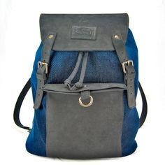 indigo rucksack