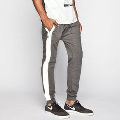 BYWX Men Relaxed Fit Casual Outdoor Sports Floral Jogger Pants