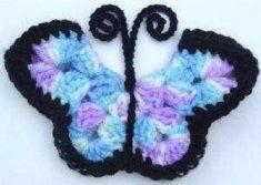 Free Monarch Butterfly Fridgies Pattern [FP167] - $0.00 : Maggie Weldon, Free Crochet Patterns