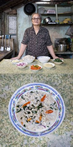 Portraits of Grandmas and Their Cooking Around the World