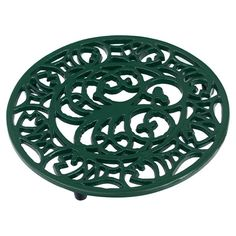 Crafted from cast iron and featuring a  octopus and fish motif, this  trivet ensures your kitchen worktops remain free from heat damage.   ...