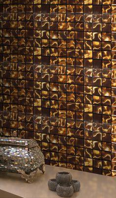 Illusion Bronze 300 x 300 Mosaic - ABL Tile & Bathroom Centre