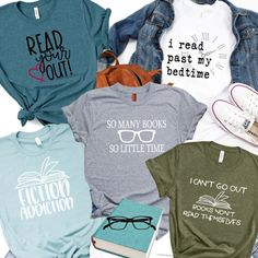 Confessions of a Frugal Mind: Cute Tees for Book Lovers  $13.99