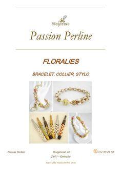 Schéma bracelet collier stylo FLORALIES par PASSIONPERLINE sur Etsy https://www.etsy.com/fr/shop/PASSIONPERLINE?ref=hdr_shop_menu