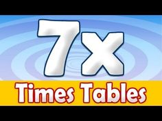 Can you sing your 7 times table? Get this song plus games in the new fun App. Now on Apple and Android Devices: Android: Maths Songs: Times Tables Andr. Multiplication Songs, Math Songs, Third Grade Math, Second Grade, Homeschool Apps, Math Tables, Singapore Math, Learn Math, Times Tables