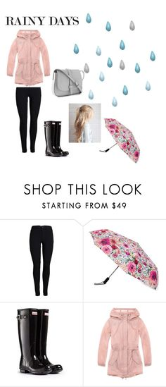 """""""Rainy Day"""" by candy107 ❤ liked on Polyvore featuring Kate Spade, Hunter, Marc New York and Gap"""