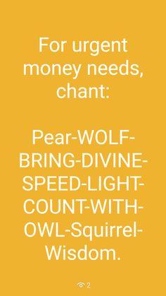 Urgent money need SWP