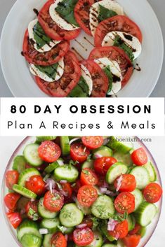 80 Day Obsession Meal Plan A - Recipes and Tips! - Amanda Seghetti