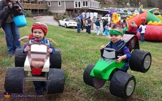 Justin: Grave Digger: Henry Engle – age 2 Monster Mutt: George Engle– age 2 Shortly after our twin boys turned 1 we bought them their first monster trucks. Henry picked Grave...