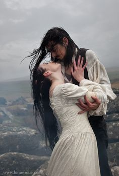 Lunaesque Creative Photgraphy - Wuthering Heights (This is almost exactly the prologue...)