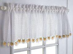 Die 62 Besten Bilder Von Gardinen Häkeln Crochet Curtains Crochet
