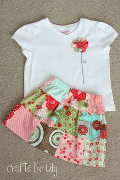 """sew girly studio: Spring Outfit #3: The """"Serger"""" Skirt"""