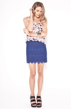 MINKPINK 'Moscato' Lace Skirt | Nordstrom